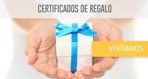 Compra un Certificado de regalo y da el mejor obsequio